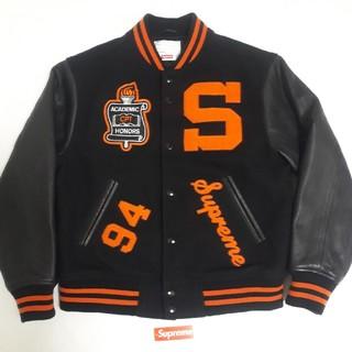 Supreme - Supreme Team Varsity Jacket blackシュプリームS