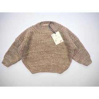 キャラメルベビー&チャイルド(Caramel baby&child )のsummer&storm chunky cotton knit 1-2y(ニット)