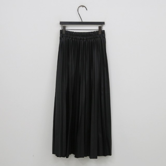 ZARA(ザラ)の【即納】レザー プリーツ スカート レディースのスカート(ロングスカート)の商品写真