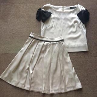ダブルスタンダードクロージング(DOUBLE STANDARD CLOTHING)のバニラクチュール セットアップ ベージュ(スーツ)