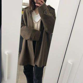 サンタモニカ(Santa Monica)のvintage brown coat(ロングコート)