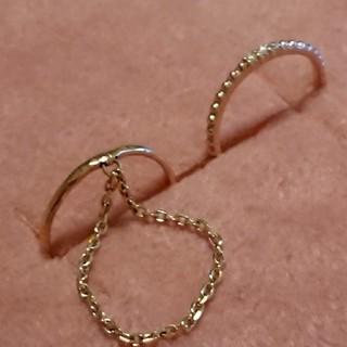 ピンキーリング 2本セット 10K(リング(指輪))