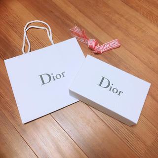 クリスチャンディオール(Christian Dior)のDior ギフトBOX,ショップバッグセット おまけつき(ラッピング/包装)
