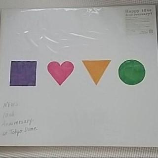 ニュース(NEWS)のNEWS 10th Anniversary 初回限定盤 Blu-ray(ミュージック)