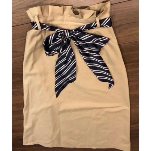rienda(リエンダ)のリエンダ♡スカーフ付きロングSK レディースのスカート(ロングスカート)の商品写真