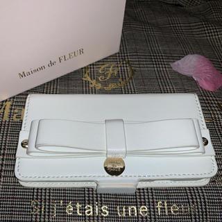 メゾンドフルール(Maison de FLEUR)のMaison de FLEUR 合皮iPhone7/8ケース(iPhoneケース)