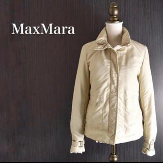 マックスマーラ(Max Mara)の【袖ベルト ロゴ付き】SMaxMara エスマックスマーラ ライトアウター(ダウンジャケット)