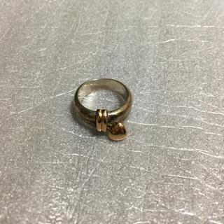 スタージュエリー(STAR JEWELRY)のスタージュエリー ハートリングK14silver925コンビ指輪6号現物資産価値(リング(指輪))
