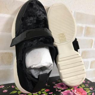 スコットクラブ(SCOT CLUB)のスコット クラブ 靴 23.5 MOVIE'S 新品未使用 黒(スニーカー)