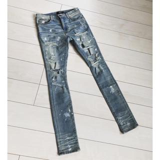 Saint Laurent - amiri super destroy painter  jeans