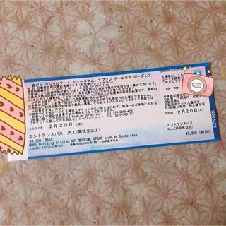 チームラボ  お台場  指定チケット(遊園地/テーマパーク)