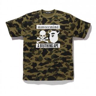 アベイシングエイプ(A BATHING APE)のコージ様 mastermind bape tシャツ Lサイズ(Tシャツ/カットソー(半袖/袖なし))