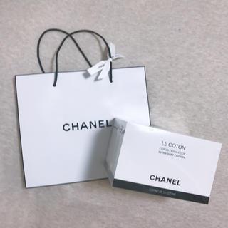 CHANEL - 【未使用】CHANEL シャネル コットン オリジナルショップバッグ