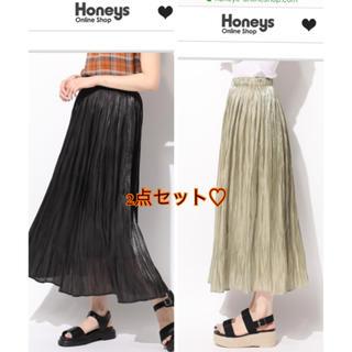 HONEYS - Honeys プリーツスカート