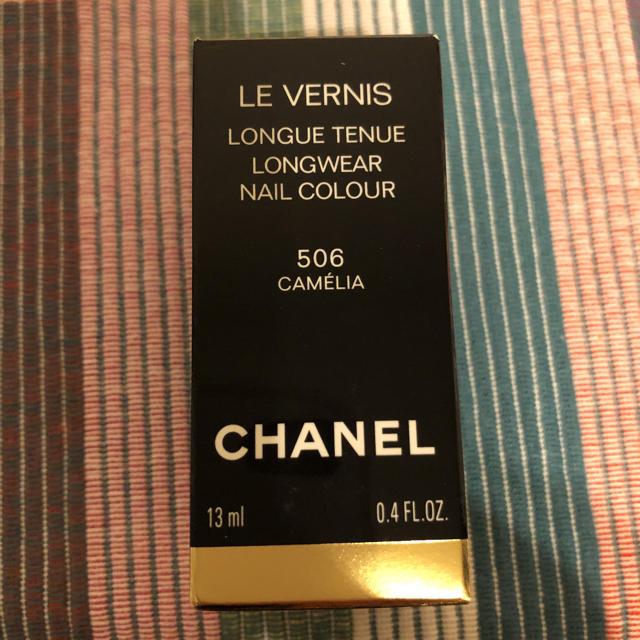 CHANEL(シャネル)のシャネル ヴェルニ ネイル カメリアルージュ 506 コスメ/美容のネイル(マニキュア)の商品写真