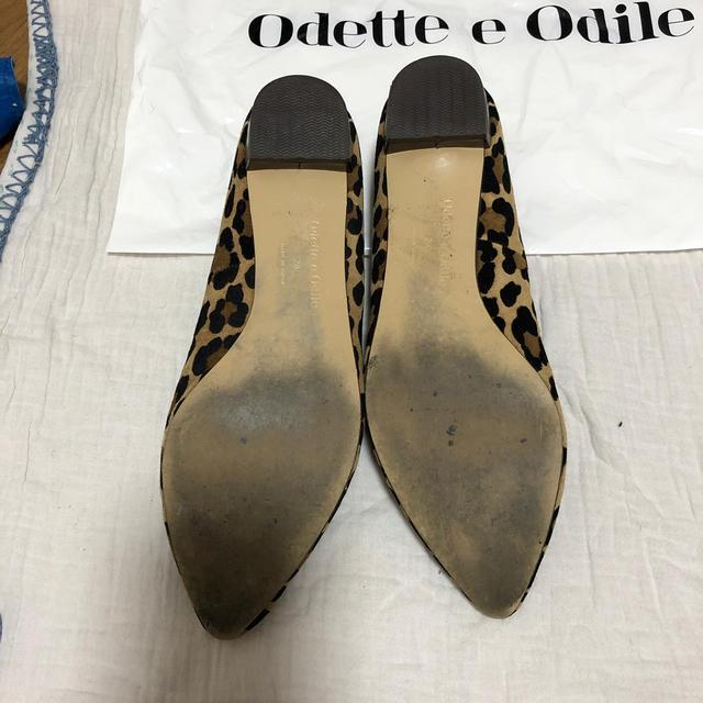 Odette e Odile(オデットエオディール)の今季!オデットエオディール☆レオパードパンプス レディースの靴/シューズ(ハイヒール/パンプス)の商品写真