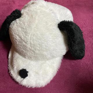 スヌーピー(SNOOPY)のユニバ スヌーピー帽子(キャップ)