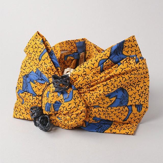 CA4LA(カシラ)の最終値下げ!タグ付き新品モダンアフリカンターバン レディースのヘアアクセサリー(ヘアバンド)の商品写真