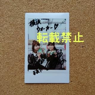 乃木坂46 - 伊藤かりん・和田まあや 直筆サイン入りチェキ