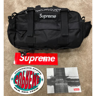 Supreme - supreme 19FW waist bag black ウエストバッグ