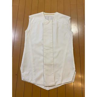 ユリウス(JULIUS)の定価32000円ユリウス比翼デザインノースリーブシャツ3JULIUS15F/F(シャツ)