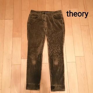 セオリー(theory)のtheory カーキ コーデュロイ(カジュアルパンツ)