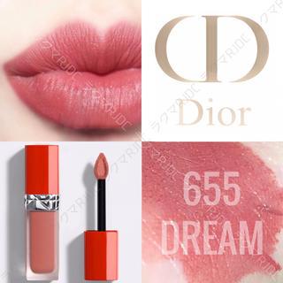 Dior - 【新品箱なし】655 ドリーム ディオール ウルトラリキッド コーラルピンク
