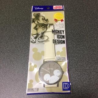Disney - 【先着1名様限定★新品未使用】DAISO ミッキーマウス腕時計