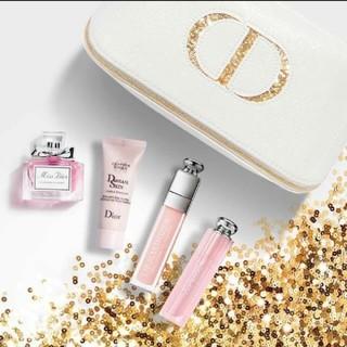Dior - Dior ディオール ホリデーオファー 限定 コスメ グロス 口紅 ポーチ