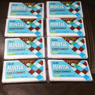 アサヒ(アサヒ)の新品未開封! ミンティア チョコミント ⑧点セット! (菓子/デザート)
