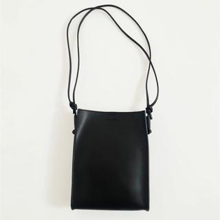 トゥデイフル(TODAYFUL)のTODAYFUL Leather Square Pochette ブラック(ショルダーバッグ)