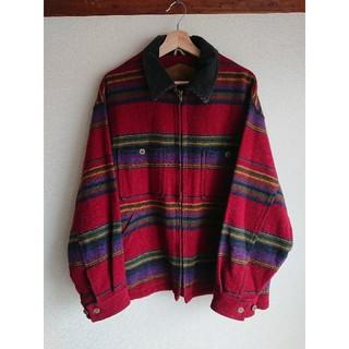 ウールリッチ(WOOLRICH)のWoolrichウールジャケット USA製 90s ドリズラー used 古着(ブルゾン)