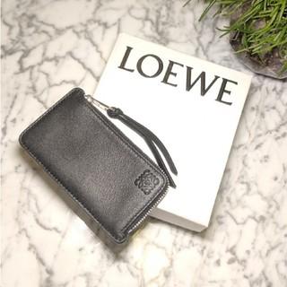 LOEWE - 【新品】LOEWE フラグメントケース カード/コインケース ゴールドシルバー