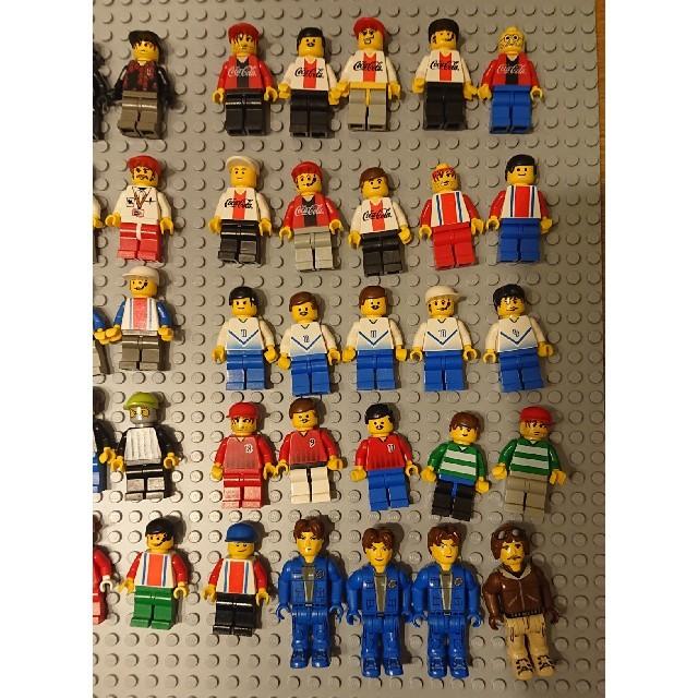 Lego(レゴ)のLEGO レゴ ミニフィグ まとめ売り 50体 キッズ/ベビー/マタニティのおもちゃ(知育玩具)の商品写真