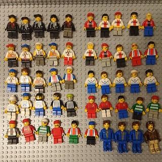 Lego - LEGO レゴ ミニフィグ まとめ売り 50体