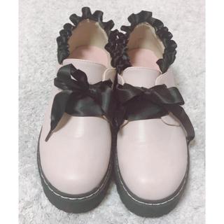 アンクルージュ(Ank Rouge)の厚底 シューズ(ローファー/革靴)