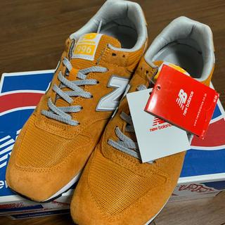 ニューバランス(New Balance)のニューバランス MRL996 オレンジ(スニーカー)