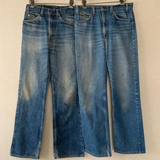 Levi's - 70-80's】Levi's 517 made in USA フレアパンツセット
