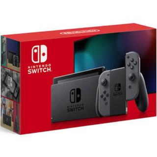 Nintendo Switch - Nintendo Switch ニンテンドースイッチ グレー 新型 美品