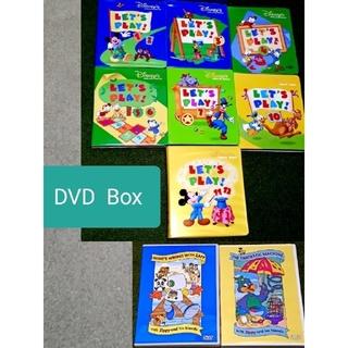Disney - ディズニー英語システム レッツプレイ DVD BOX 英会話 (おまけ付き)