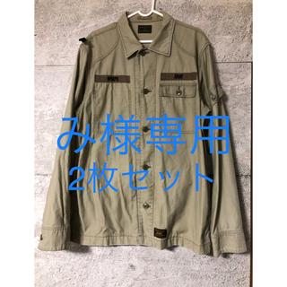 W)taps - 希少 XL wtaps 12AW jungle shirt オリーブ