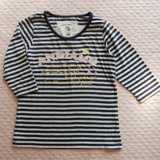 イッカ(ikka)のikka (イッカ) 七分袖 Tシャツ  130 cm(Tシャツ/カットソー)