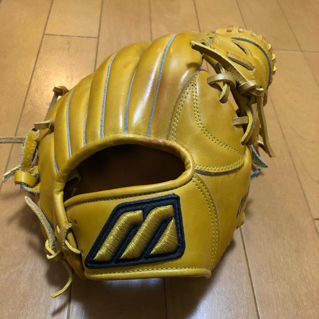 MIZUNO(ミズノ)の硬式野球グローブ スポーツ/アウトドアの野球(グローブ)の商品写真
