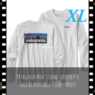 patagonia - パタゴニア  メンズ ロングスリーブ P-6ロゴ レスポンシビリティー