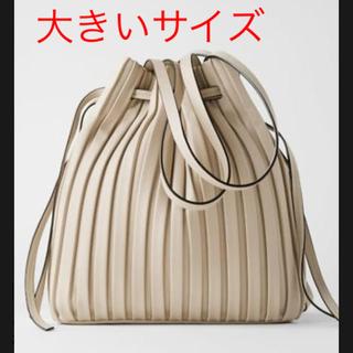 ZARA - *2020SS*ZARA 人気商品 プリーツ加工入り バスケットバッグ