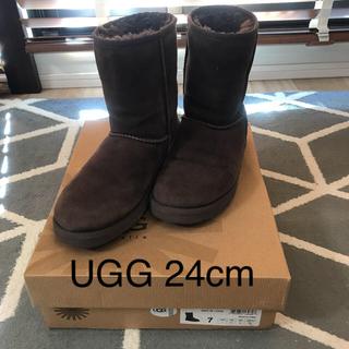 アグ(UGG)のUGGクラシックショートブーツ24cm(ブーツ)