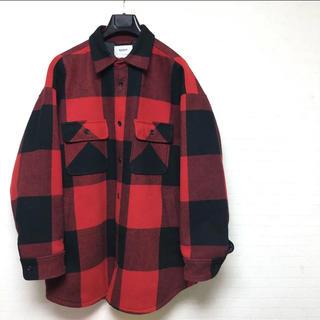 Supreme - 美品 doublet バッファロー チェック オーバー コート