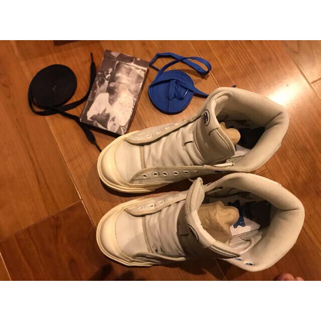 STUSSY(ステューシー)の値下 NIKE×stussy  ALL COURT MID 蛇 メンズの靴/シューズ(スニーカー)の商品写真