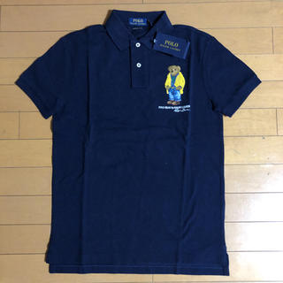 POLO RALPH LAUREN - 新品タグ付き ラルフローレン ポロベアポロシャツ ネイビー S(Mサイズ相当)