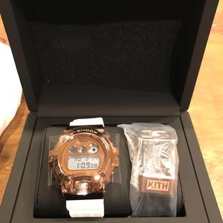 ジーショック(G-SHOCK)の限定 KITH × G-SHOCK 6900 ROSE GOLD(腕時計(デジタル))